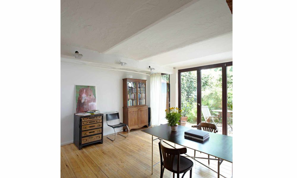 Umbau Bremer Haus, Kellerräume zu hochwertigem Wohnraum